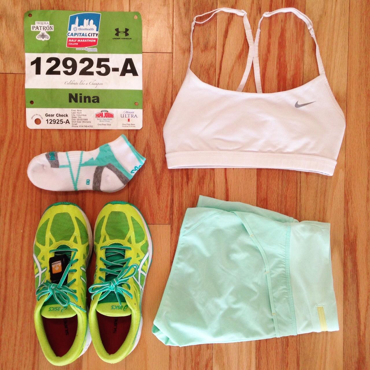 Running Gear Nike Asics