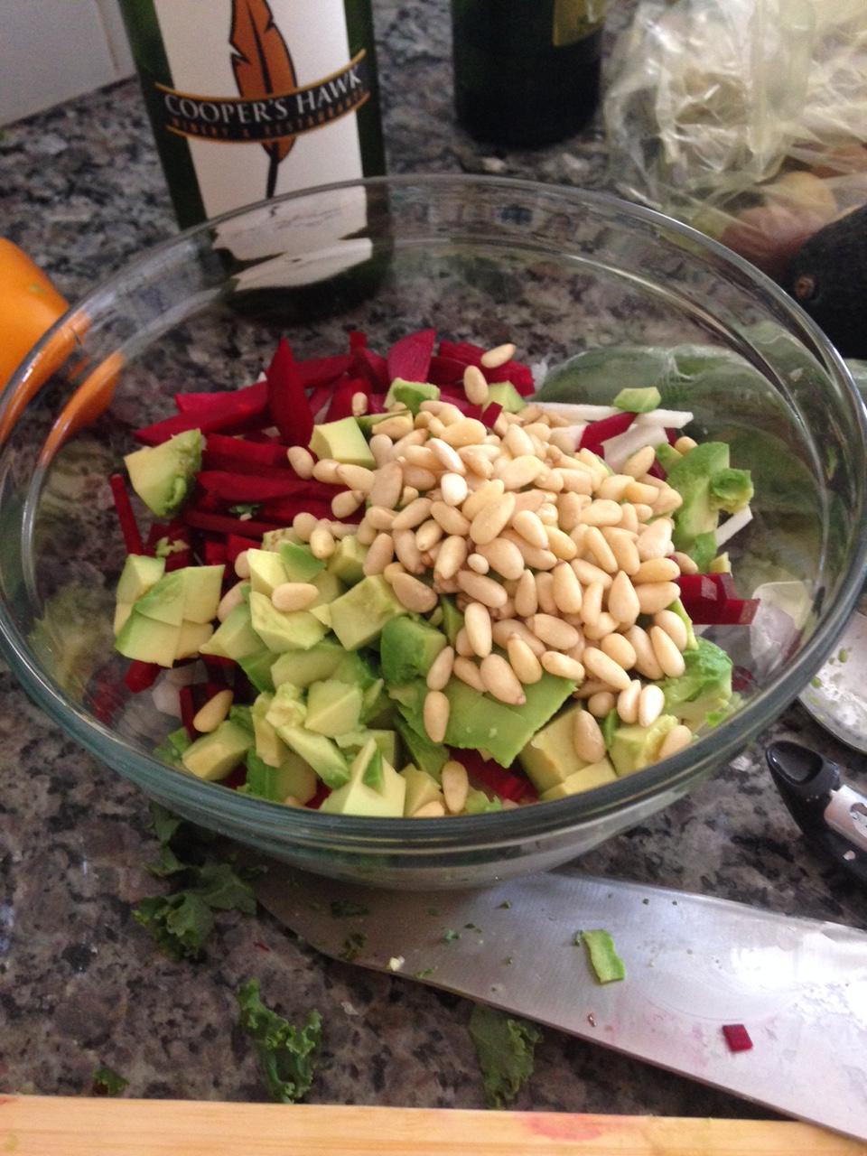 salad mix ins