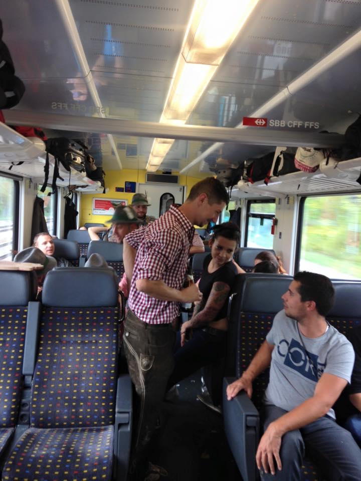 DAY1munich train ride