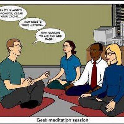 nerd yoga