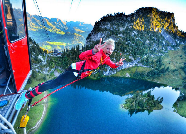 Nina Bungee Interlaken