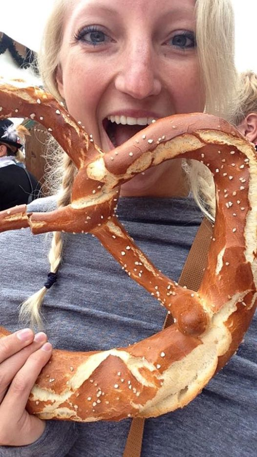 Pretzel the size of my head