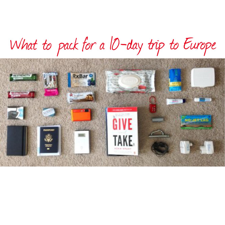 EuroTrip Pack