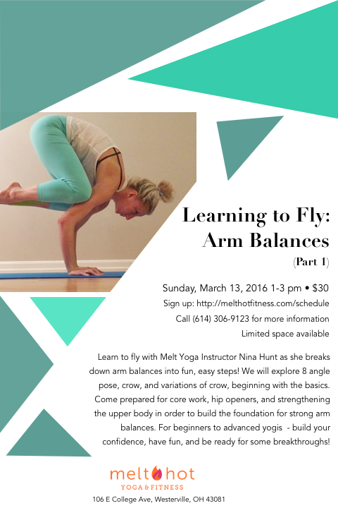 Columbus Yoga Arm Balance Workshop