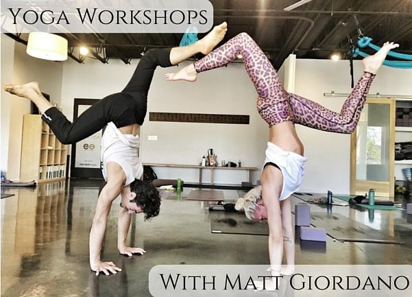 Yoga Workshop: Matt Giordano