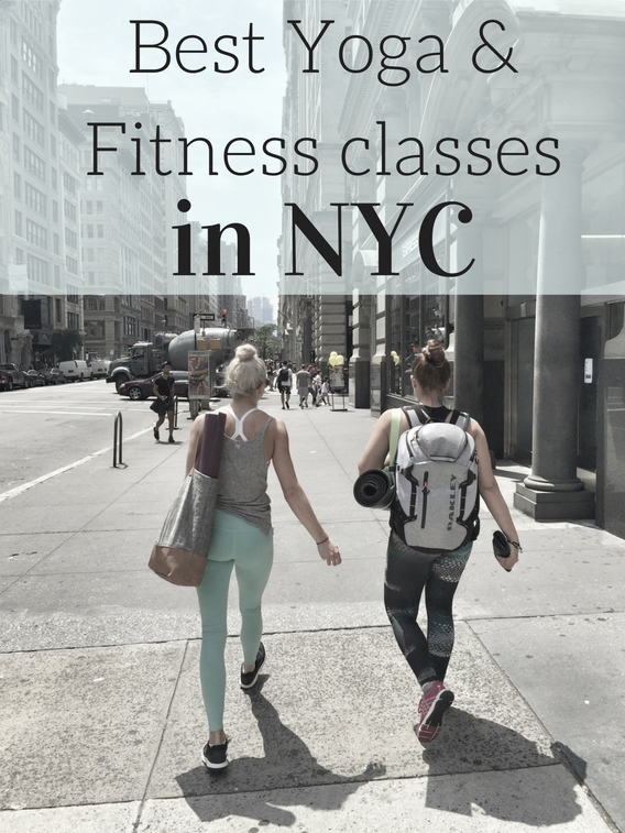 NYC: 12 Fitness Classes in 3 Days