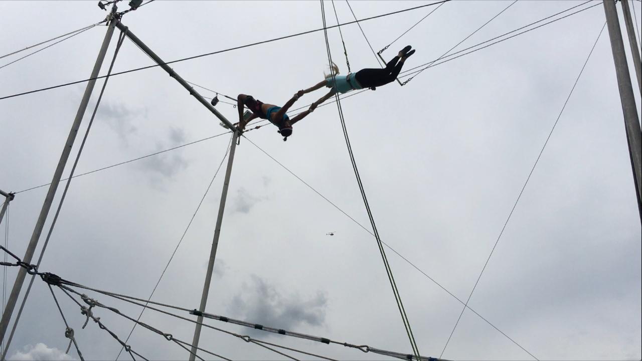 NYC trapeze nina elise