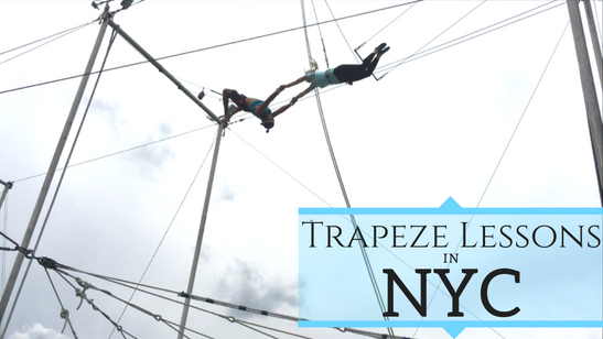 Learning how to Trapeze in NYC