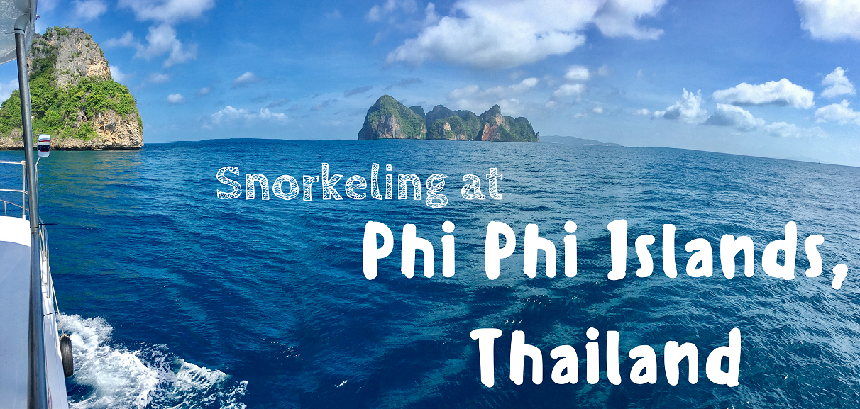 Snorkeling at Phi Phi Islands in Thailand